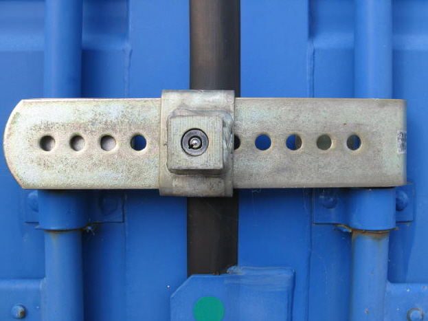 Hardened steel security locks are supplied.